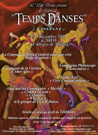 Festival Temps Danses 2009