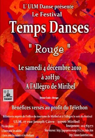 Festival Temps Danses 2010