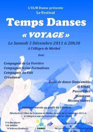 Festival Temps Danses 2011