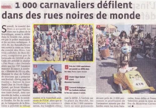 Carnaval Miribel 2012 Le Progrès.JPG